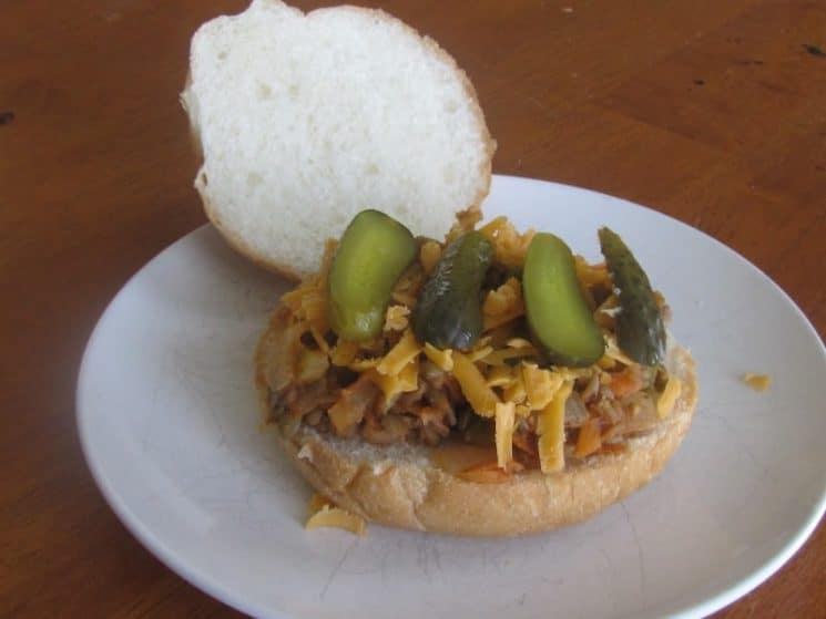 Beth's Sloppy Lentil Joes Recipe. Supper in minutes! This fast sloppy joe recipe can be put together for dinner at the last minute!